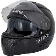 SPADA Motorcycle Helmet Sp16 Black XL 559516