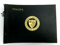 Vintage 1912 Cornell University Memory Photo Book Wonderful Estate Find