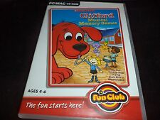 Clifford the big red dog  Musical Memory Games     pc game