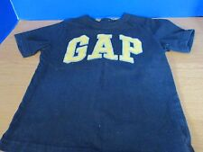 BABY GAP~Navy Blue with Yellow SHORT SLEEVE TEE T-SHIRT~Boys Size 5