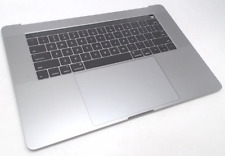 """NEW 661-07955 Apple SILVER MacBook Pro 15"""" w/ Touch Bar Top Case w/ Battery 2017"""