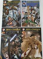 Army Of Darkness Shop Till You Drop Dead #1 2 3 4 Dynamite Comics Lot NM