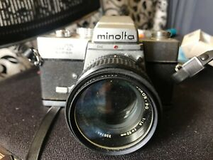 minolta film camera srt super