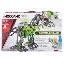 Meccano Tech Maker System Meccasaur Robotic Programmable Dinosaur 16304 Complete