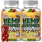 (2 PACK) Natural Vegan Gummies Pain, Stress, Immune, Anxiety, Sleep, Exp 01/23