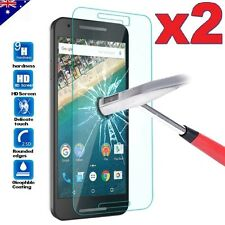 2x Tempered Glass / Plastic Screen Protector For Google Nexus 5X 6 6P | Pixel XL