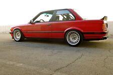 "BMW E30 325i/318i CUSTOM TWO PIECE CORSA GT STEEL 16"" WHEELS STEELIES"