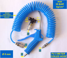 AIR DUSTER BLOW GUN BLOWER HOSE SET DUST CLEAN CLEANING TRUCK LORRY WAGON 10 ATM