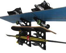 Ski and Snowboard Storage Rack | 3 Tier Wall Storage | StoreYourBoard | NEW