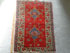 Middle Eastern Prayer Rug - Vintage - Size @ 32 x 22 Inches