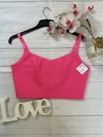 Ted Baker Size 3 12 bright pink cropped top cami party clubbing occasion VETTA