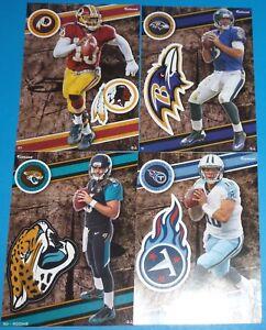2014 NFL FATHEAD TRADEABLES 4 Blake Bortles Joe Flacco R. Griffin Jake Locker