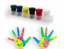 6 Pots Finger Paints Non Toxic Painting Children Child Crafts Poster Art