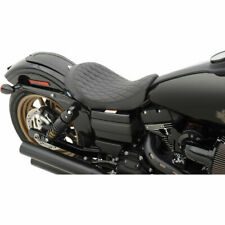 Asiento Perfil Bajo Premium Para Harley-Davidson® Dyna® 2006-Up Low Solo Seat