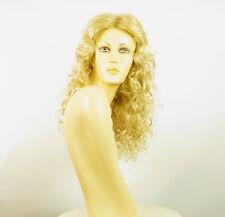 Perruque femme mi-longue blond doré méché blond très clair gaetane 24BT613