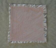Prince Lionheart 0033 Silkie Lovey Security Blanket Pink Heart Satin Velour