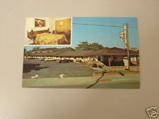 Monterey California Lone Oak Motel Postcard 70's