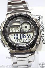 AE-1000WD-1A Original Casio Men's Watch Standard Digital Black 10-Year Battery