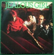 "Jealous Girl Three Days and Riki 7"" Single Picture Sleeve"