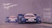 Nissan Performance NPTI-1989-1991Champions Car Poster:)