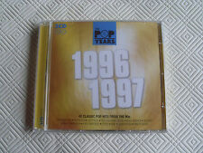 Pop Years – 1996-1997 – Double CD – Excellent Condition - FREEPOST