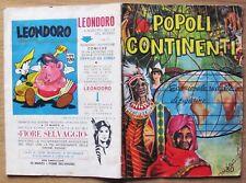 ALBUM POPOLI CONTINENTI - Editrice Imperia, 1964 con 87 Figurine*  DA RECUPERO