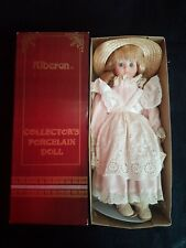 Alberon porcelain doll Pink Dress