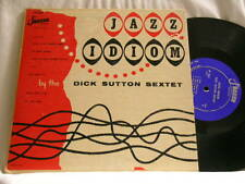 "DICK SUTTON Jazz Idiom STEVE LACY Rai Anderson Jaguar JP 802 10"" LP VG++ RARE!!!"