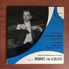 Vinile 45 giri Herbert von Karajan copertina Luigi Veronesi - E22512