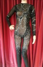 DaNeeNa M535T Cher Nude If I could Turn Back Time Bodysuit XS-XL