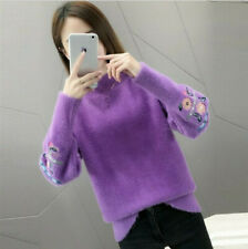 Women's Sweater embroidery bottoming shirt autumn winter sweater fashion Hot