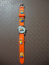Kids Despicable Me Minion Analogue (OrangeD) Silicone Band wrist watch BRAND NEW