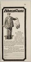 1929 Print Ad Ithaca Guns Shotguns Hunter with Snow Geese Ithaca,New York