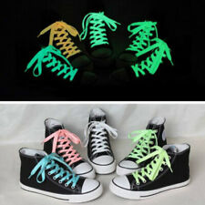 Sports Luminous Shoe Laces Glow In The Dark Color Fluorescent Shoelace Flat Lace