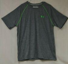 Under Amour Men's Running Heatgear Short Sleeve T-Shirt  Gray Size XL