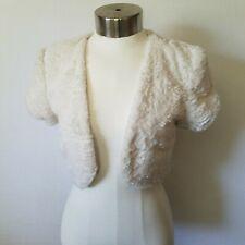 NWT BCX White Vest Size S Small New
