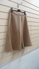 KALEIDOSCOPE SKIRT SIZE 22 BEIGE CAMEL TAILORED WINTER BNWT (G016
