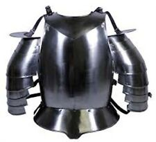 "Medieval 18g Steel Body""Armour New Shoulder With Armor Jacket"