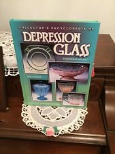 Collectors Encyclopedia Of Depression Glass 14th Edition Hardcover Book 2000
