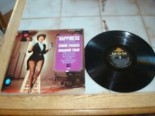 CONNIE FRANCIS~Happiness~LP~ORIG~MGM~STEREO~NEAR~MINT~VINYL