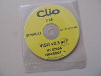 Renault CLIO X65 ab 01.09.2004 Werkstatthandbuch Elektrik Schaltpläne