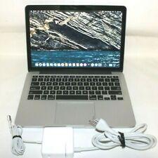 "Apple MacBook Pro 13"" retina A1502 2.4GHz Core i5 4GB RAM 128GB SSD Late 2013"