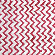 Sanganeri Hand Block Printed Cotton Fabric Voile Dress Sewing Material 5 Yard E