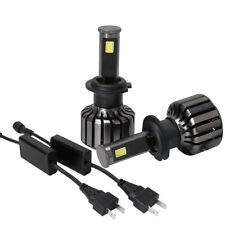 2X H7 LED Headlight Bulbs Replace Head Lamp High Power Fog 6000K White Light US