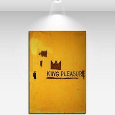 "Jean Michel Basquiat ""King pleasure 1987"" HD print on canvas wall picture 36x24"""