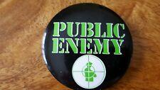 Rare Public enemy button (2 1/4 inches)