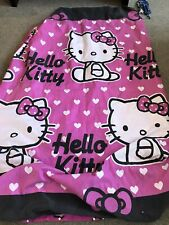 Excellent Condition Hello Kitty Single Duvet Cover And Pillowcase