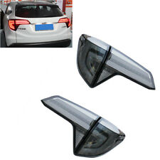 For Honda HR-V VEZEL LED Taillights Assembly LED Rear Lamps 2016-2018 Black