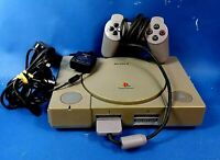 Playstation One PS1 Sony Game Console with Lead & Controller Play Station