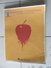 Dashboard Confessional The Shade Of Poison Trees Music Guitar Tab Song Book New